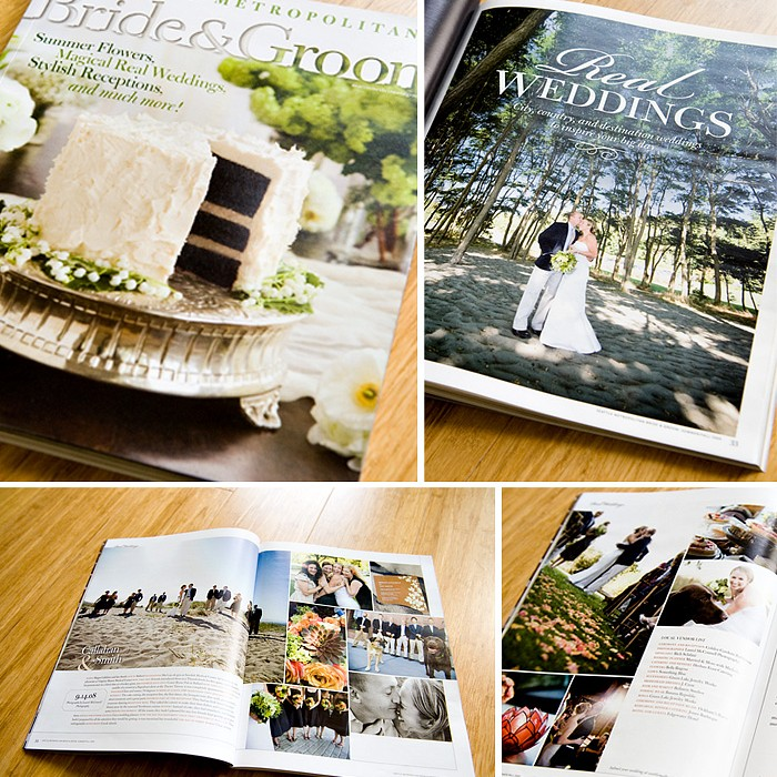4 Pages in Seattle Met Bride + Groom!