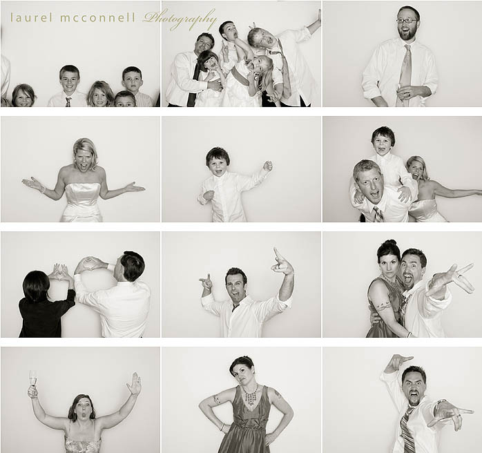Hitched: Kelly + Erik's Wedding Photobooth