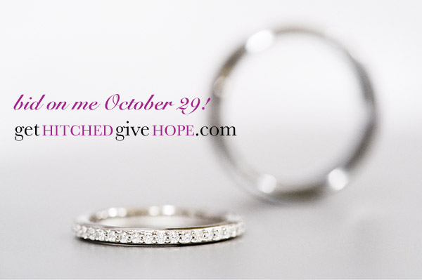A Great Deal for A Great Cause: This Diamond Wedding Band Is Up For Auction!