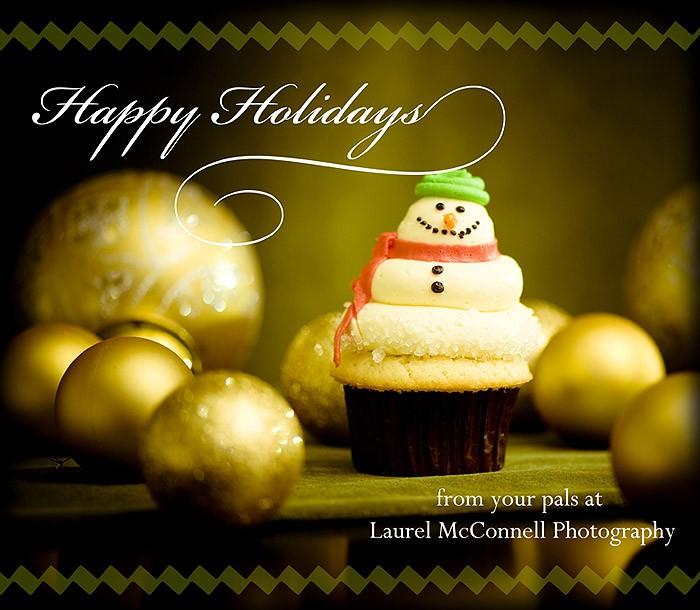 Cupcake Thursday... Happy Holidays!