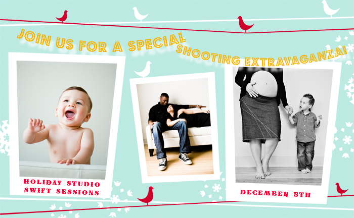 Holiday Portrait Swift Sessions + Holiday Deadlines