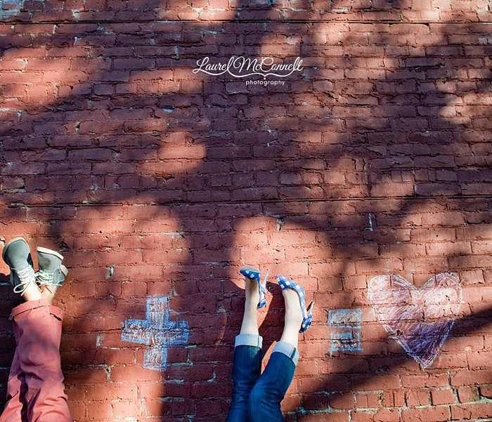 Blue in Ballard: A Super Cute Seattle Engagement Shoot!