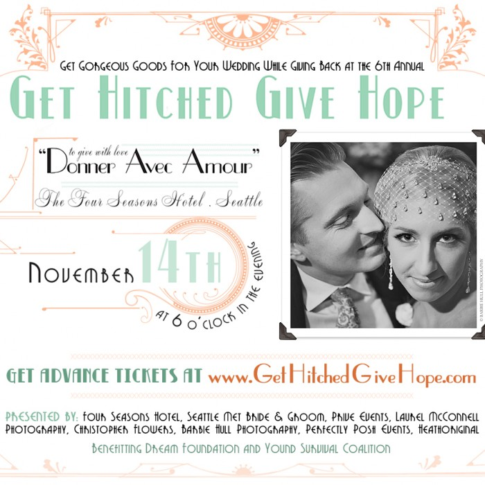 Our Charity :: Get Hitched Give Hope and the 2013 Bridal Gala