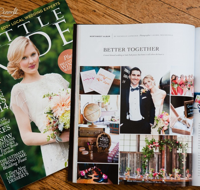 Awww Shucks :: Seattle Bride Real Weddings Feature