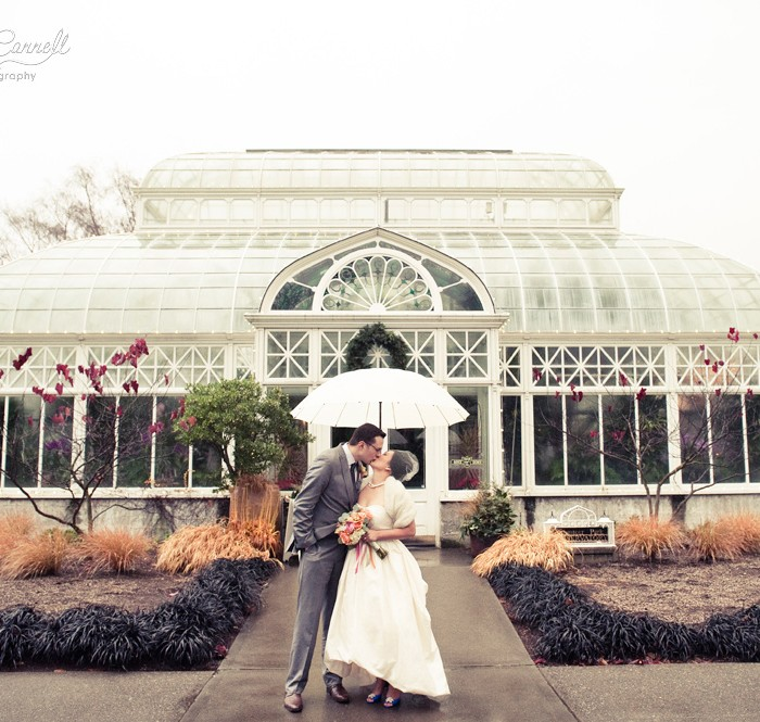 Rain Happens :: Wedding Portrait Edition