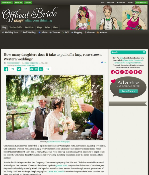 Super-Duper, Happy, Excited Dance! :: Offbeat Bride Feature