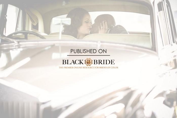 Super Stylish Ruins Wedding Featured on Black Bride!